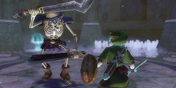 Link faces off against evil doers in The Legend of Zelda: Skyward Sword