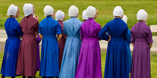 The amish are the only people left in America who have any sort of moral compass