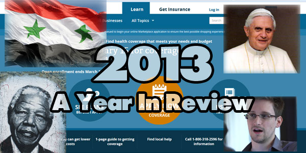 2013 Year-In Review